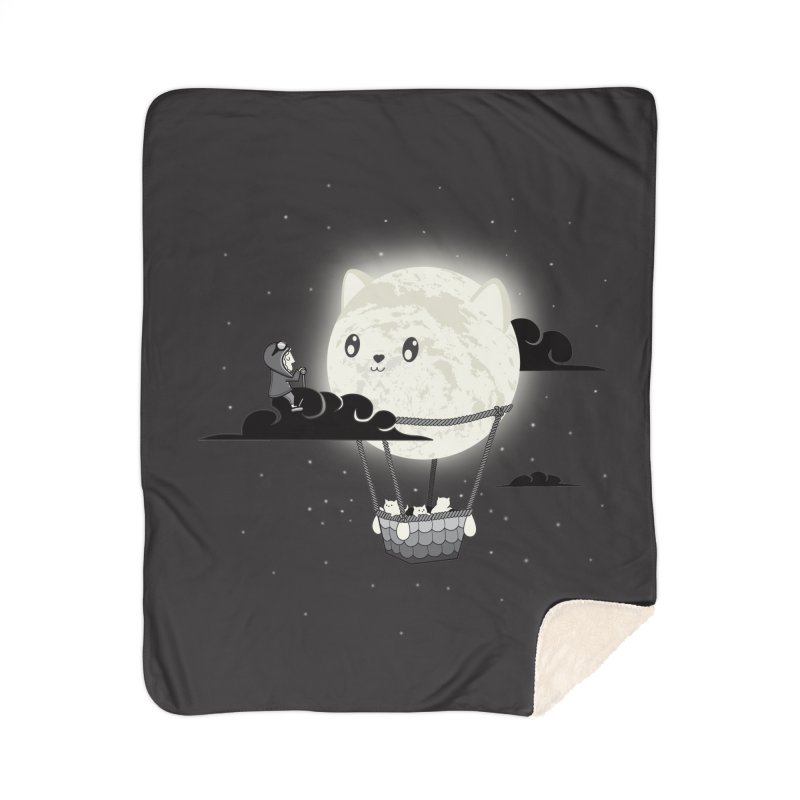 Did You See the Mewn in Flight Home Blanket by agrimony // Aaron Thong
