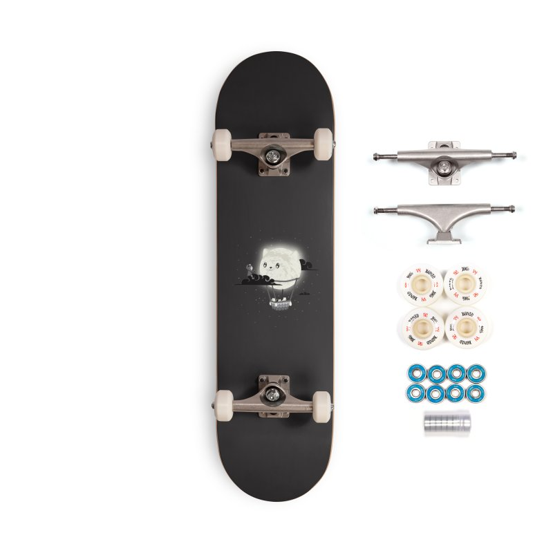 Did You See the Mewn in Flight Accessories Skateboard by agrimony // Aaron Thong
