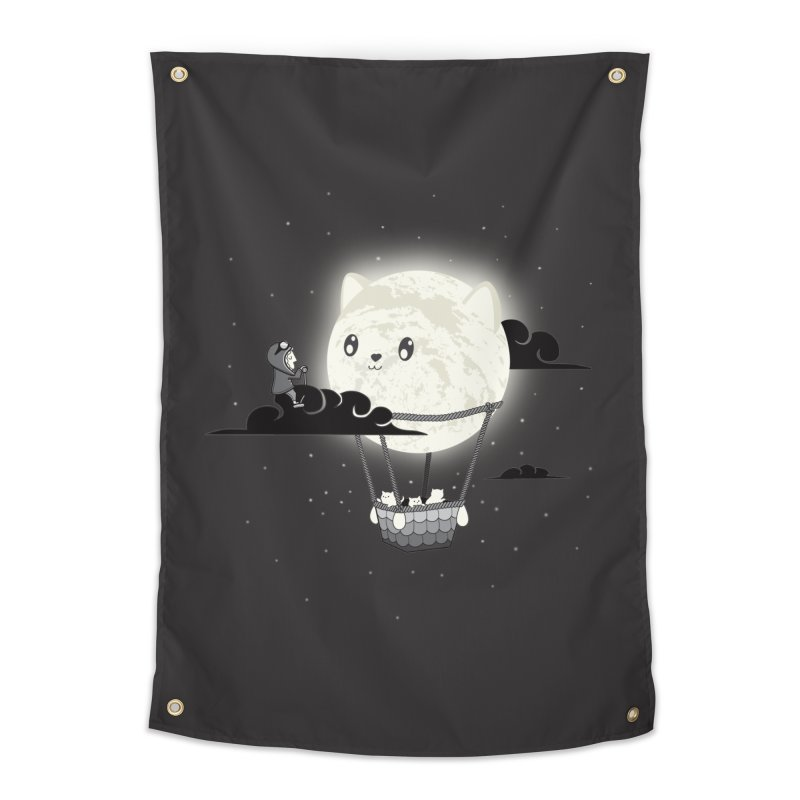Did You See the Mewn in Flight Home Tapestry by agrimony // Aaron Thong