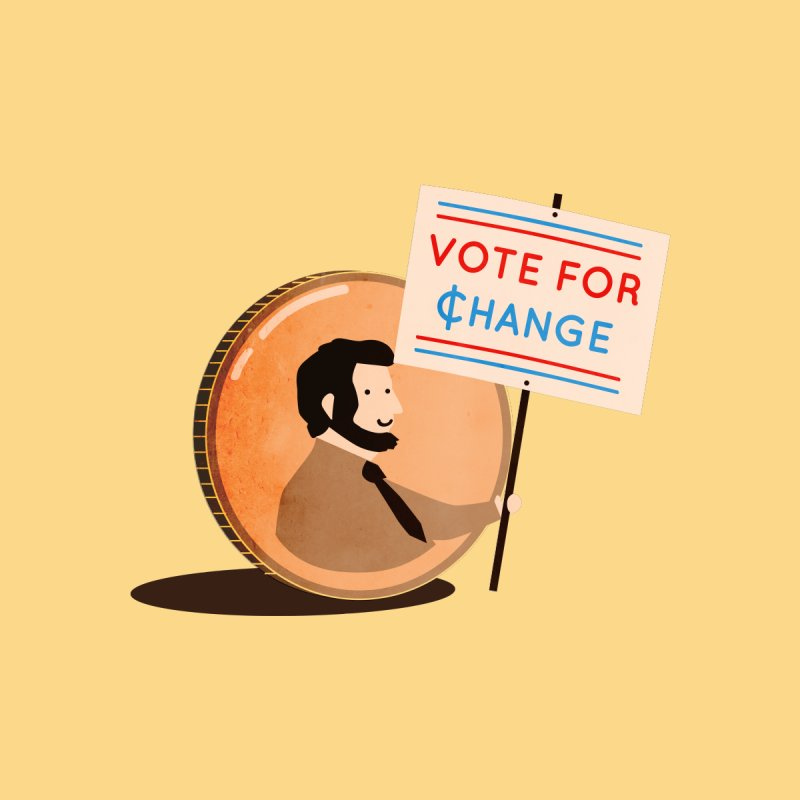 Vote for Change Kids T-Shirt by agrimony // Aaron Thong