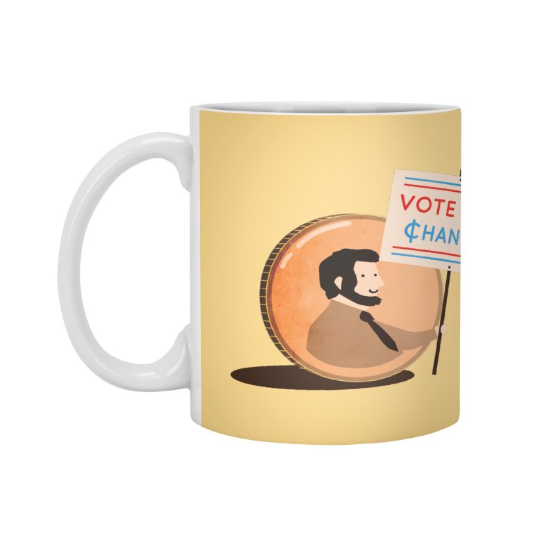 Vote for Change Accessories Mug by agrimony // Aaron Thong