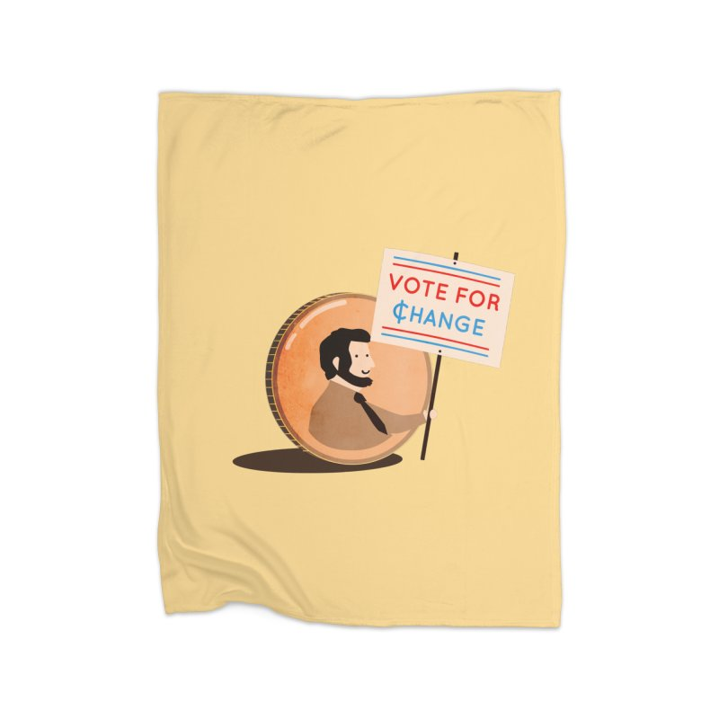 Vote for Change Home Blanket by agrimony // Aaron Thong