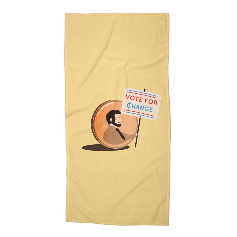 Vote for Change Accessories Beach Towel by agrimony // Aaron Thong