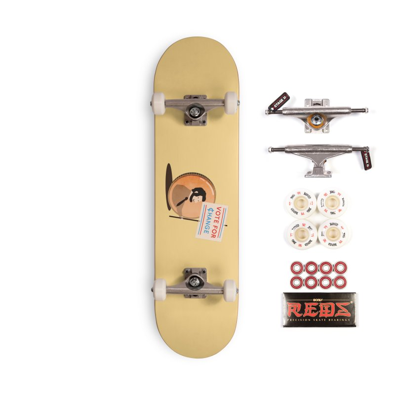 Vote for Change Accessories Skateboard by agrimony // Aaron Thong