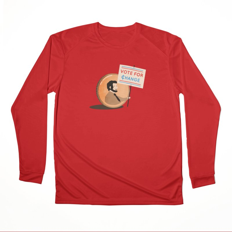 Vote for Change Men's Longsleeve T-Shirt by agrimony // Aaron Thong