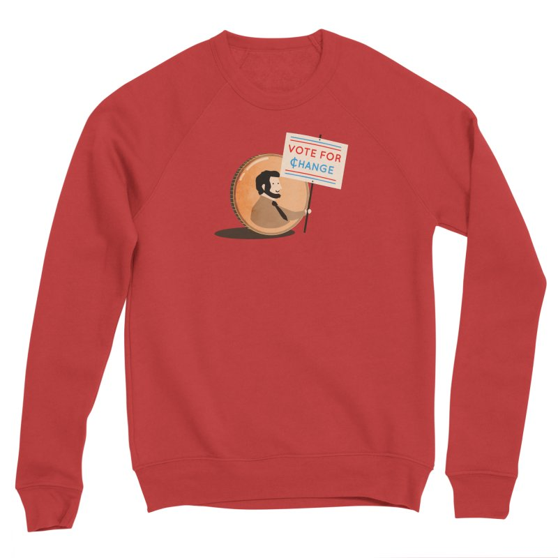 Vote for Change Men's Sweatshirt by agrimony // Aaron Thong