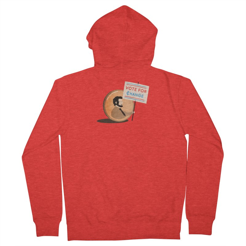 Vote for Change Women's Zip-Up Hoody by agrimony // Aaron Thong