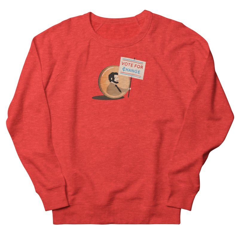 Vote for Change Women's Sweatshirt by agrimony // Aaron Thong