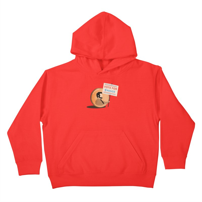 Vote for Change Kids Pullover Hoody by agrimony // Aaron Thong