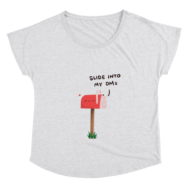 Slide Into My DMs Women's Scoop Neck by agrimony // Aaron Thong