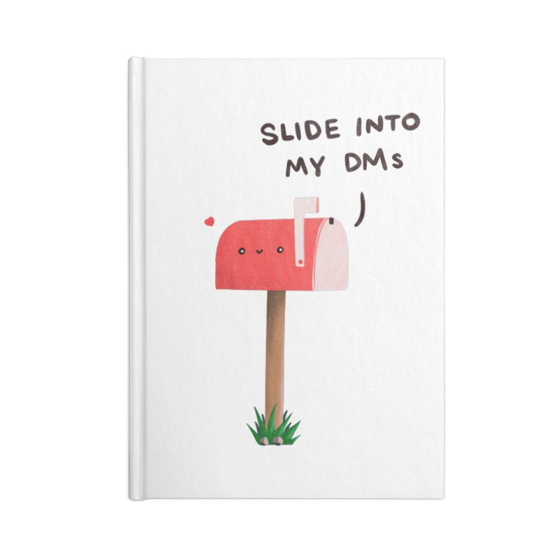 Slide Into My DMs Accessories Notebook by agrimony // Aaron Thong