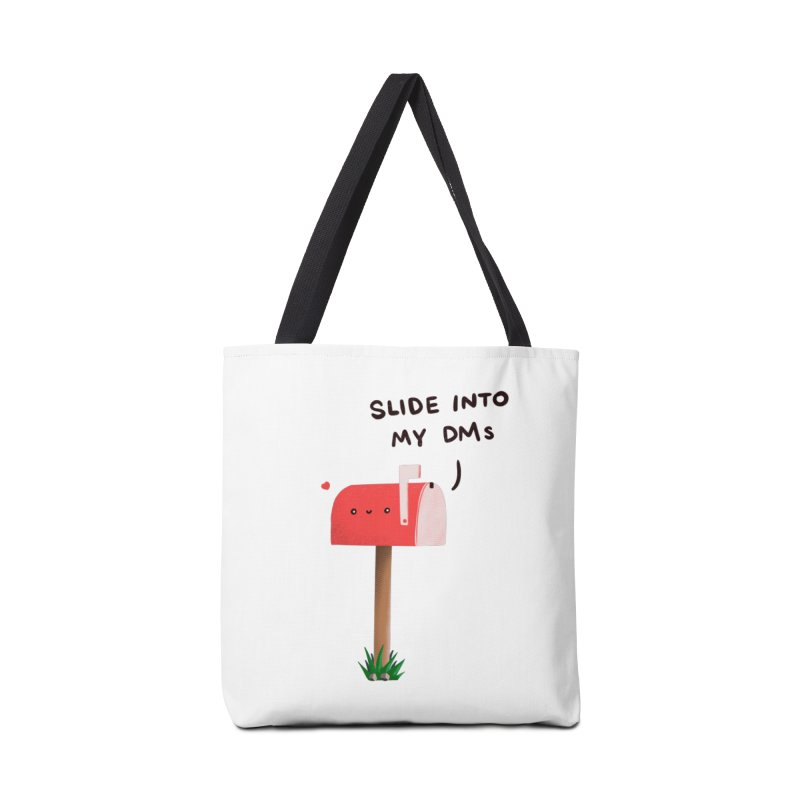 Slide Into My DMs Accessories Bag by agrimony // Aaron Thong