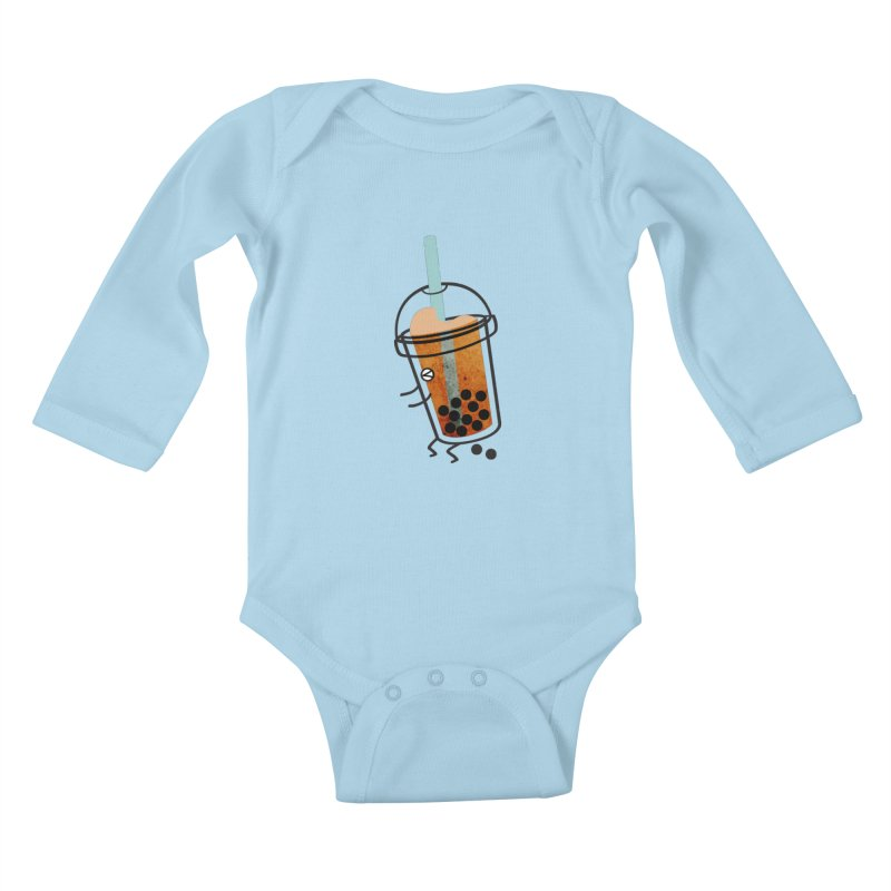 A Sweet Surprise Kids Baby Longsleeve Bodysuit by agrimony // Aaron Thong