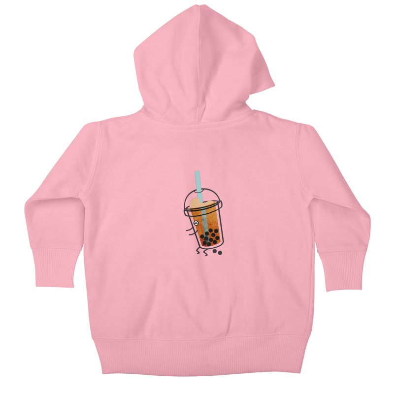 A Sweet Surprise Kids Baby Zip-Up Hoody by agrimony // Aaron Thong
