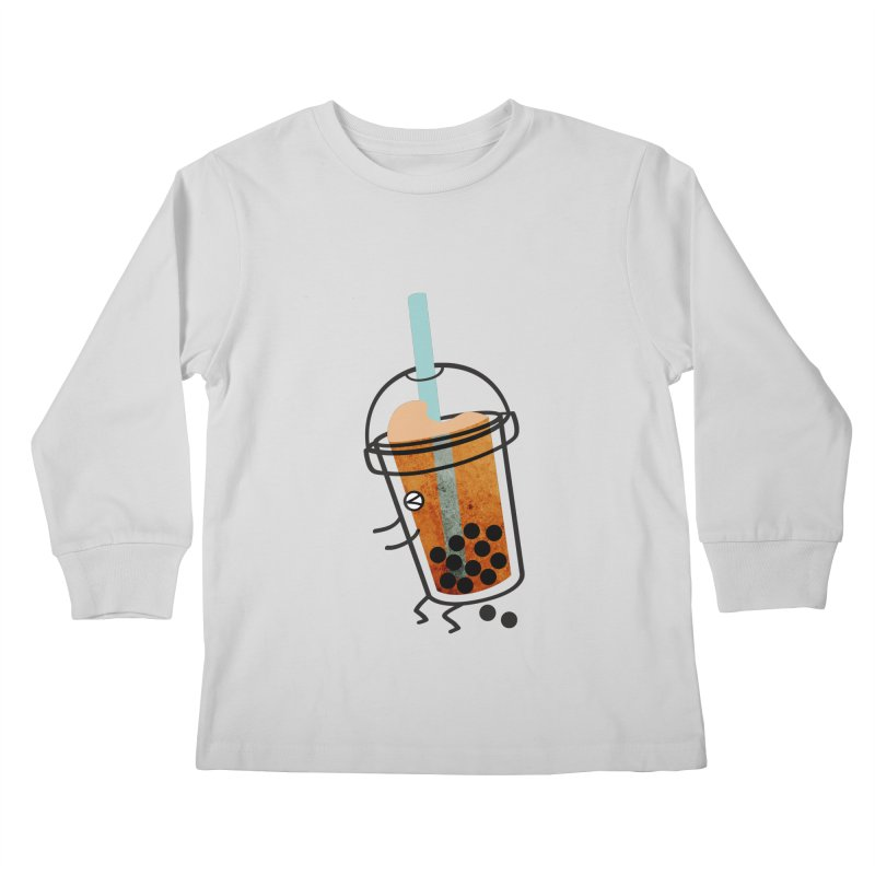 A Sweet Surprise Kids Longsleeve T-Shirt by agrimony // Aaron Thong