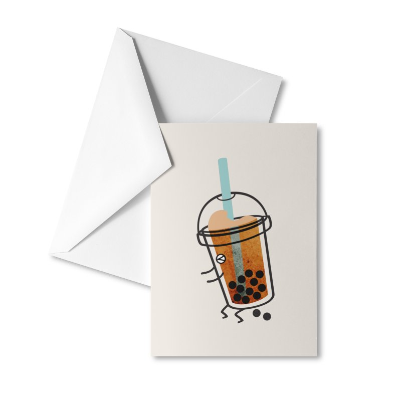 A Sweet Surprise Accessories Greeting Card by agrimony // Aaron Thong