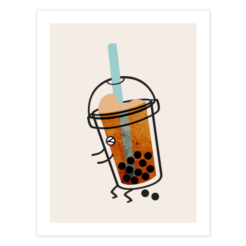 A Sweet Surprise Home Fine Art Print by agrimony // Aaron Thong