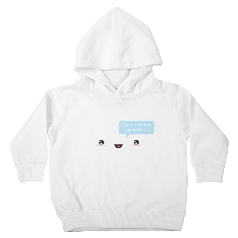 A Decent Proposal Kids Toddler Pullover Hoody by agrimony // Aaron Thong