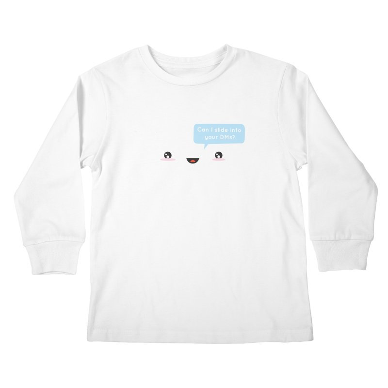 A Decent Proposal Kids Longsleeve T-Shirt by agrimony // Aaron Thong