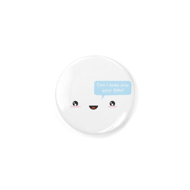 A Decent Proposal Accessories Button by agrimony // Aaron Thong