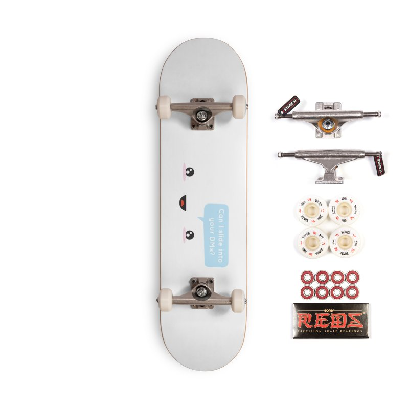 A Decent Proposal Accessories Skateboard by agrimony // Aaron Thong