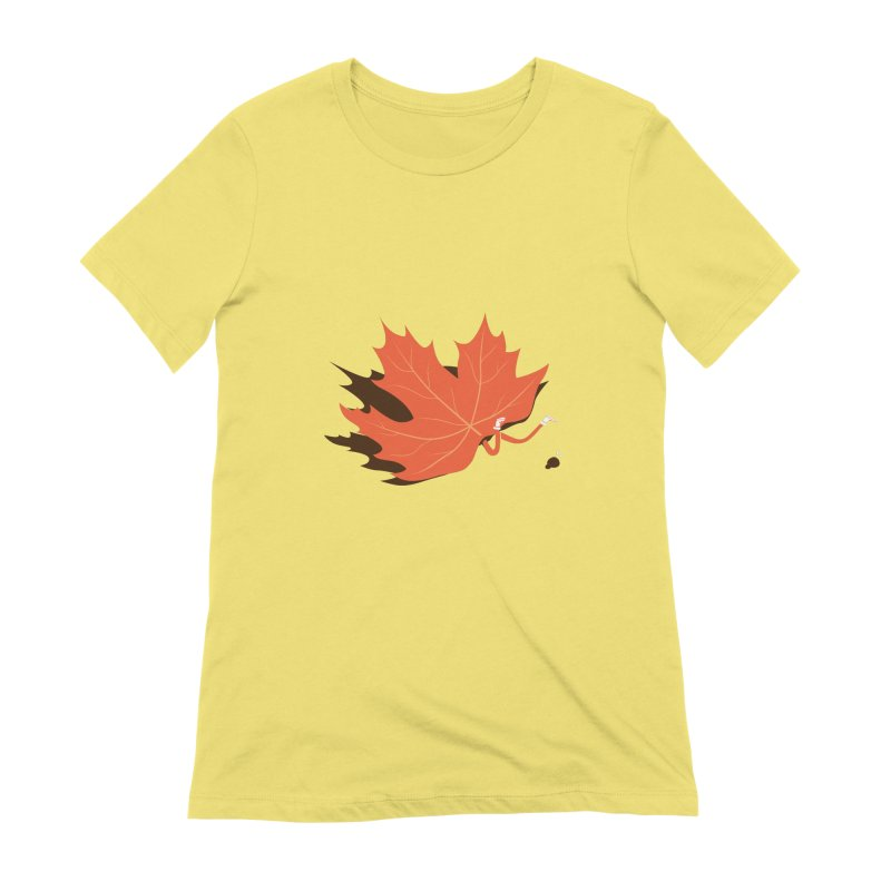 Fall Women's T-Shirt by agrimony // Aaron Thong