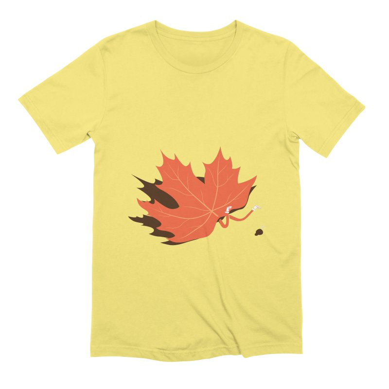 Fall Men's T-Shirt by agrimony // Aaron Thong