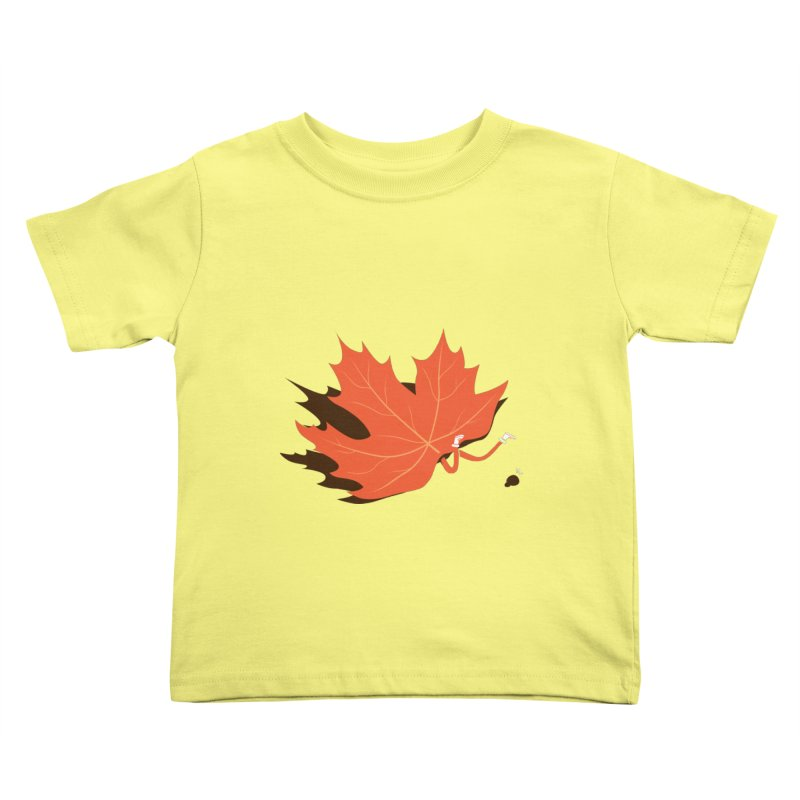 Fall Kids Toddler T-Shirt by agrimony // Aaron Thong