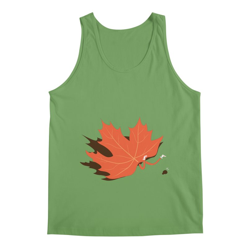 Fall Men's Tank by agrimony // Aaron Thong