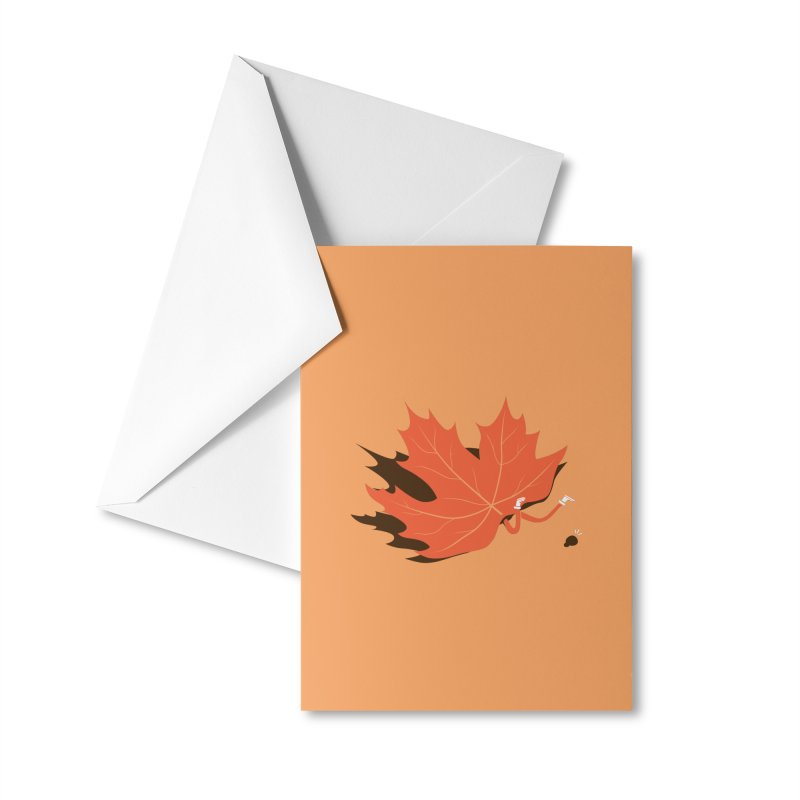 Fall Accessories Greeting Card by agrimony // Aaron Thong