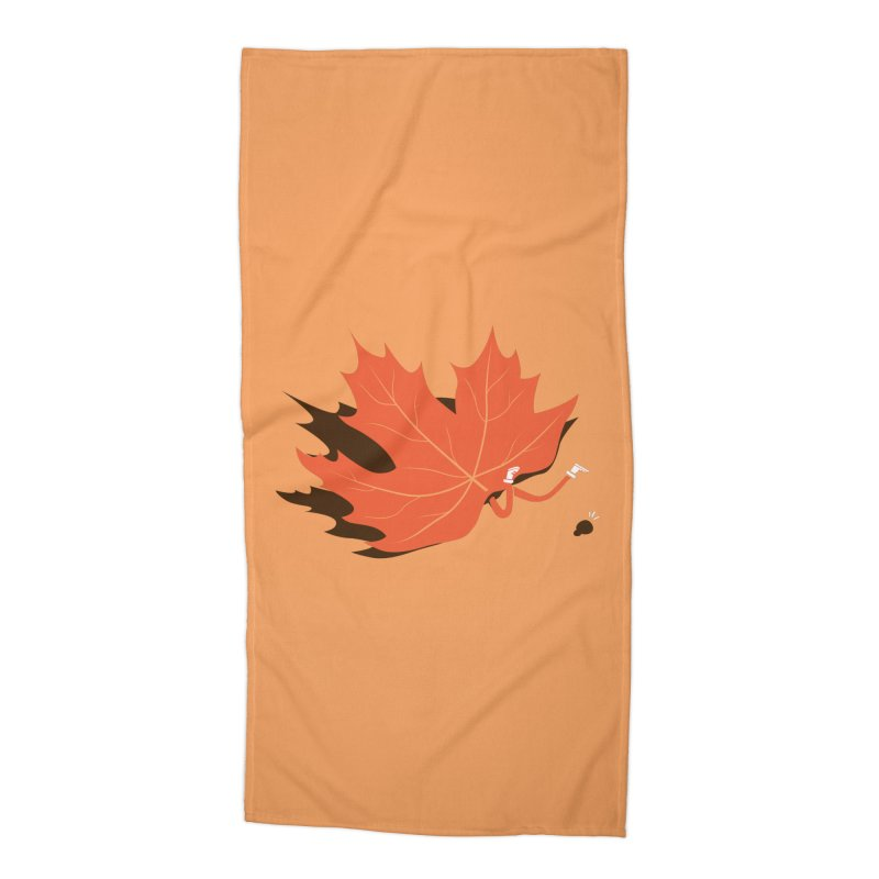 Fall Accessories Beach Towel by agrimony // Aaron Thong