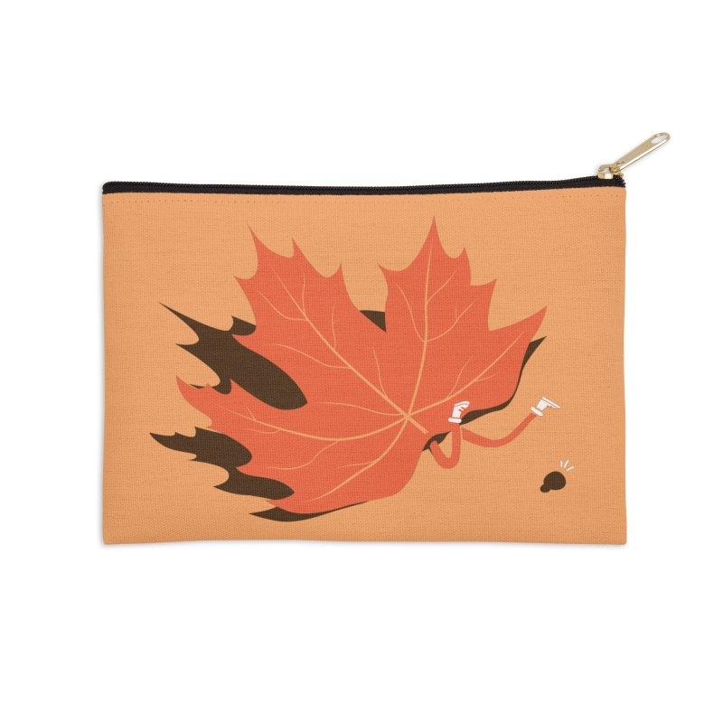 Fall Accessories Zip Pouch by agrimony // Aaron Thong