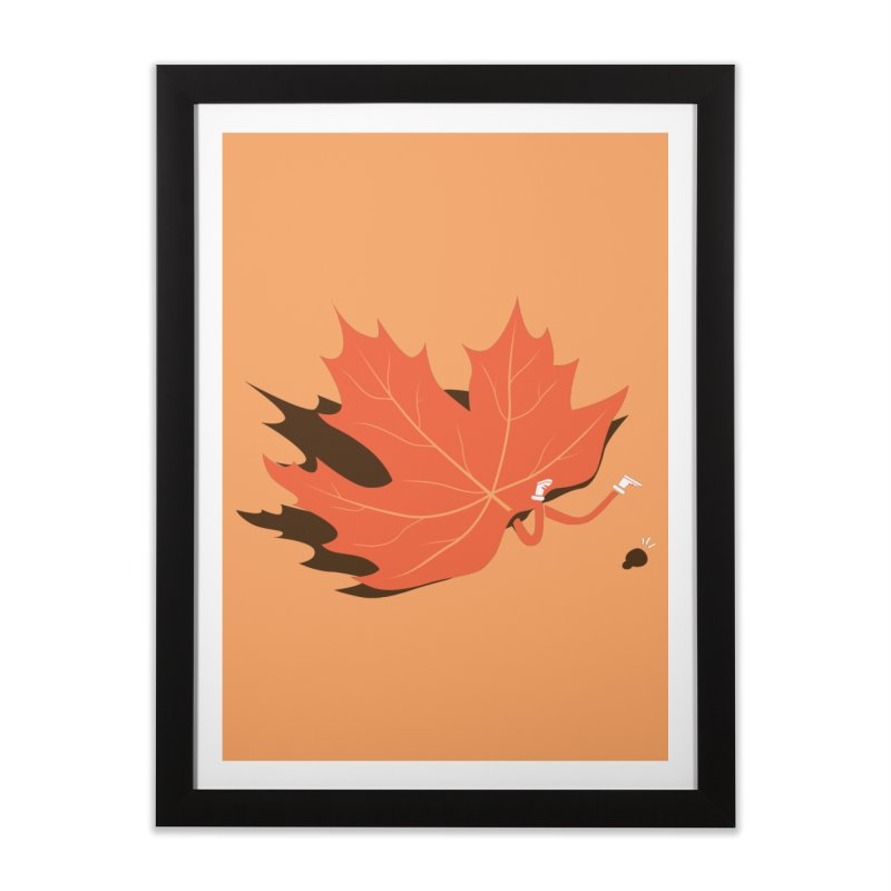 Fall Home Framed Fine Art Print by agrimony // Aaron Thong