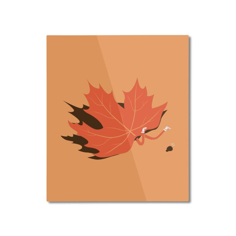 Fall Home Mounted Aluminum Print by agrimony // Aaron Thong