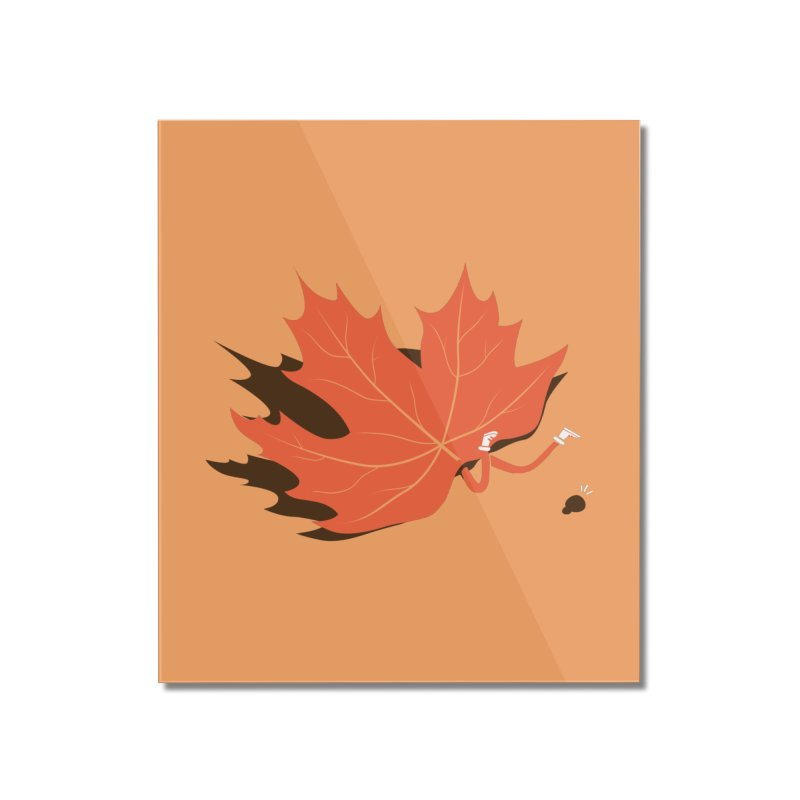 Fall Home Mounted Acrylic Print by agrimony // Aaron Thong