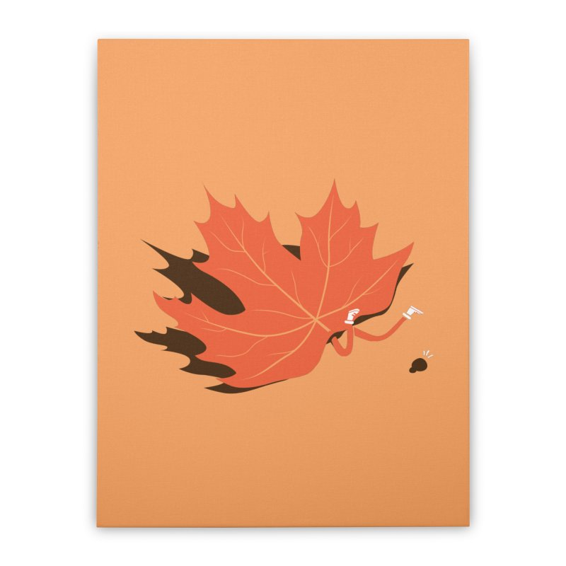Fall Home Stretched Canvas by agrimony // Aaron Thong