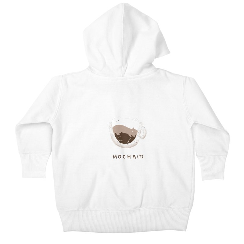 Mochat Kids Baby Zip-Up Hoody by agrimony // Aaron Thong