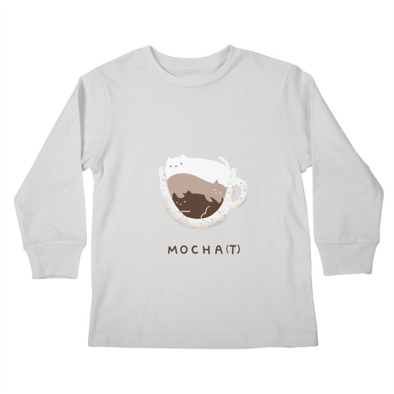 Mochat Kids Longsleeve T-Shirt by agrimony // Aaron Thong