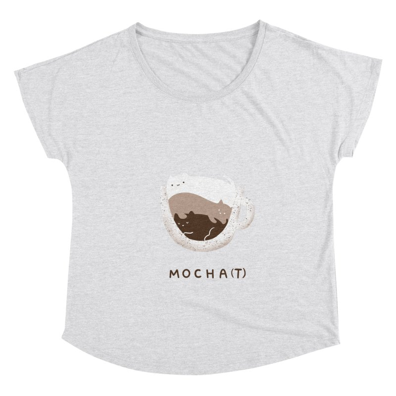 Mochat Women's Scoop Neck by agrimony // Aaron Thong