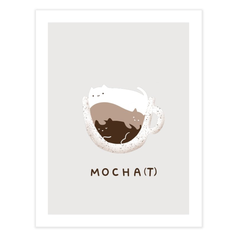Mochat Home Fine Art Print by agrimony // Aaron Thong