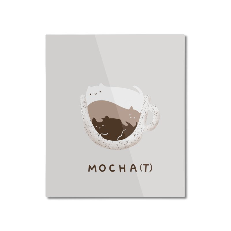 Mochat Home Mounted Aluminum Print by agrimony // Aaron Thong