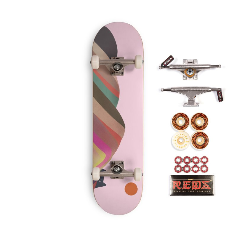 Layered Landscape Accessories Skateboard by agrimony // Aaron Thong