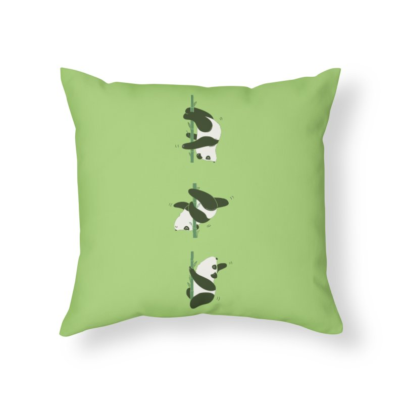Pole Pandance Home Throw Pillow by agrimony // Aaron Thong