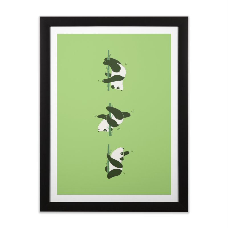 Pole Pandance Home Framed Fine Art Print by agrimony // Aaron Thong