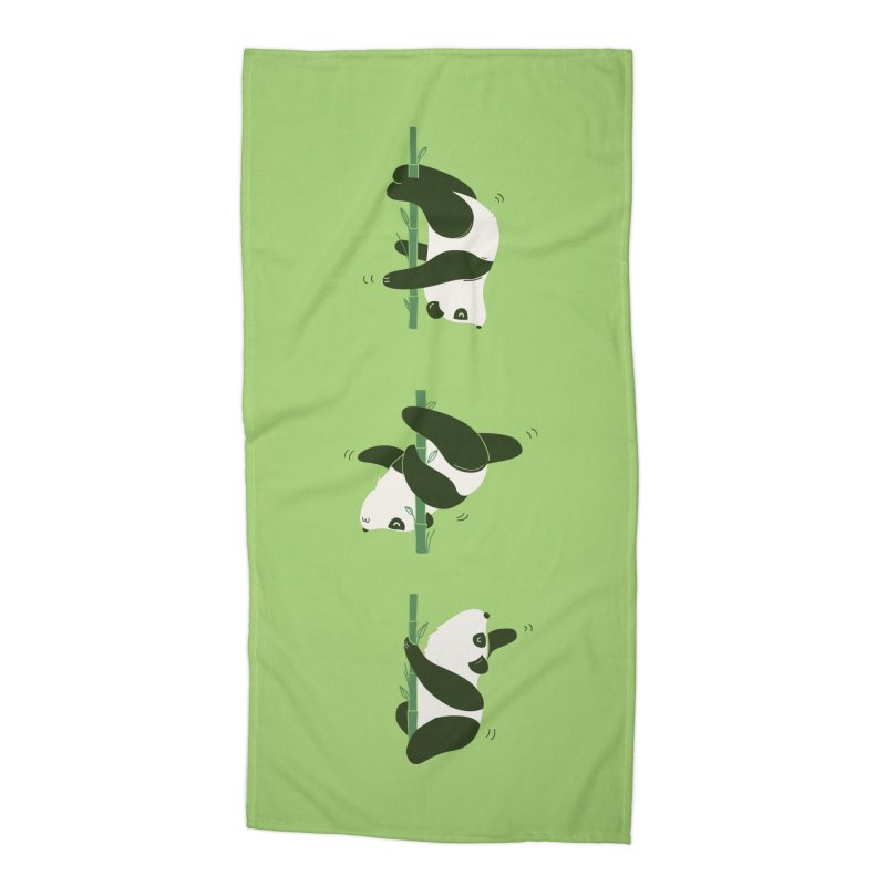Pole Pandance Accessories Beach Towel by agrimony // Aaron Thong