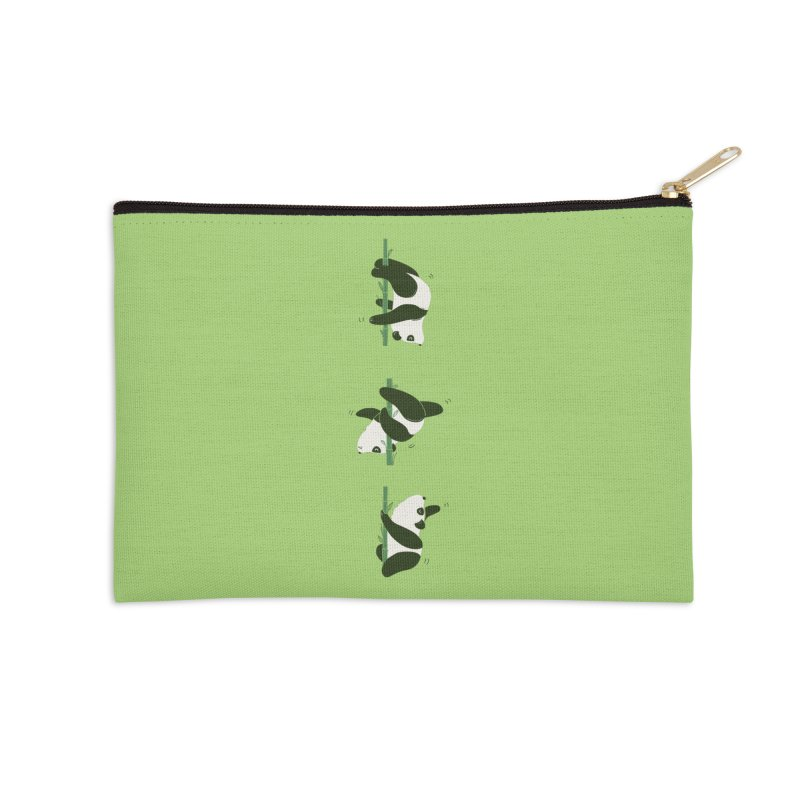 Pole Pandance Accessories Zip Pouch by agrimony // Aaron Thong