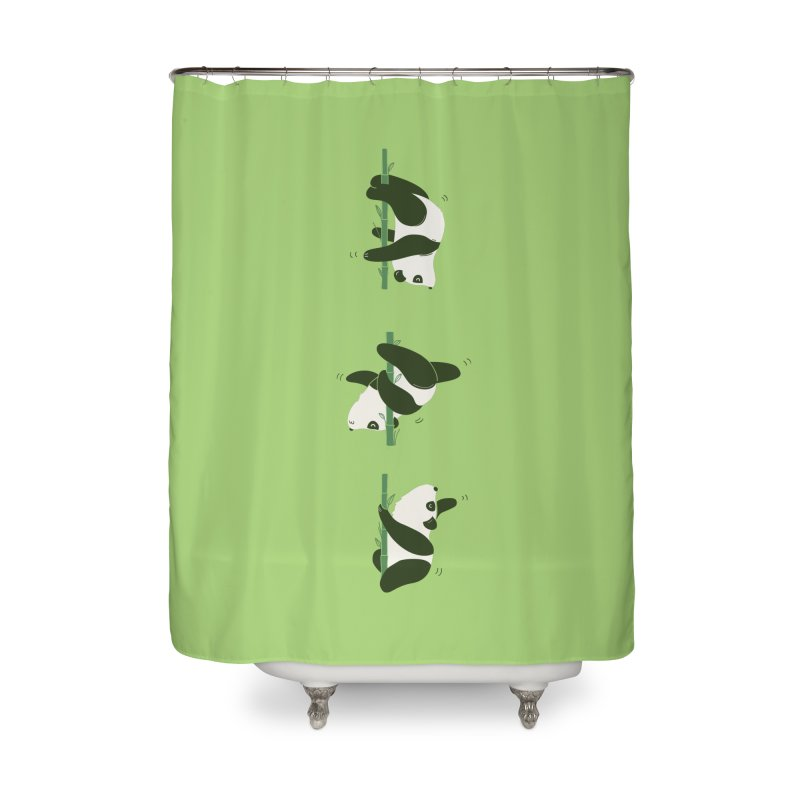 Pole Pandance Home Shower Curtain by agrimony // Aaron Thong