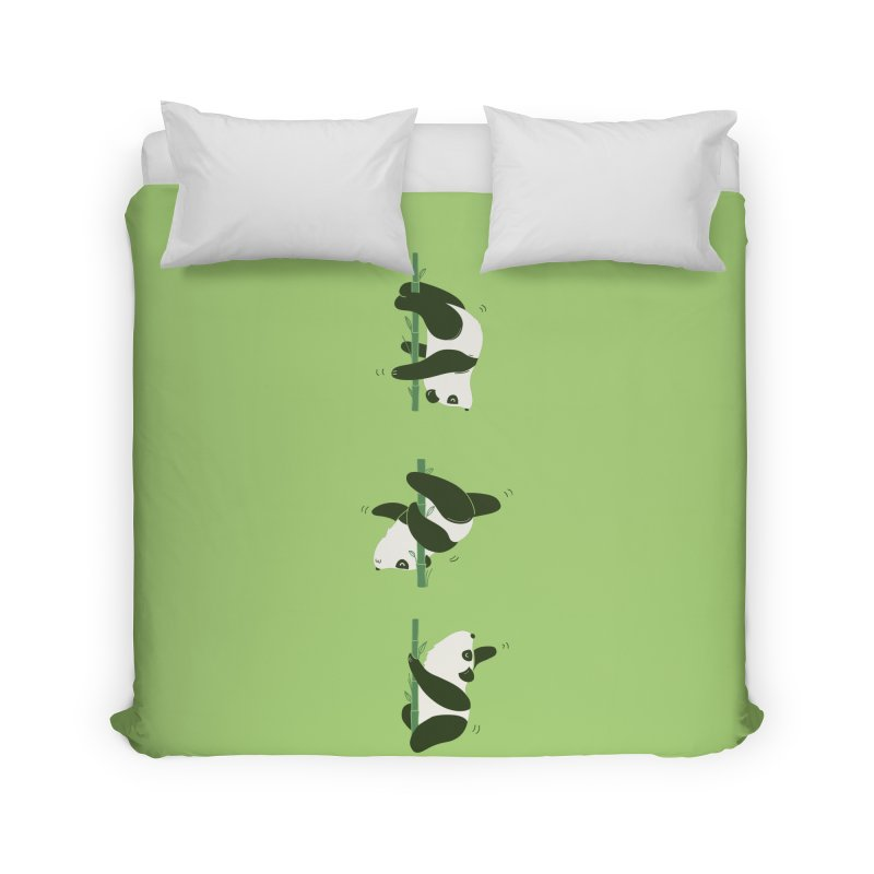 Pole Pandance Home Duvet by agrimony // Aaron Thong