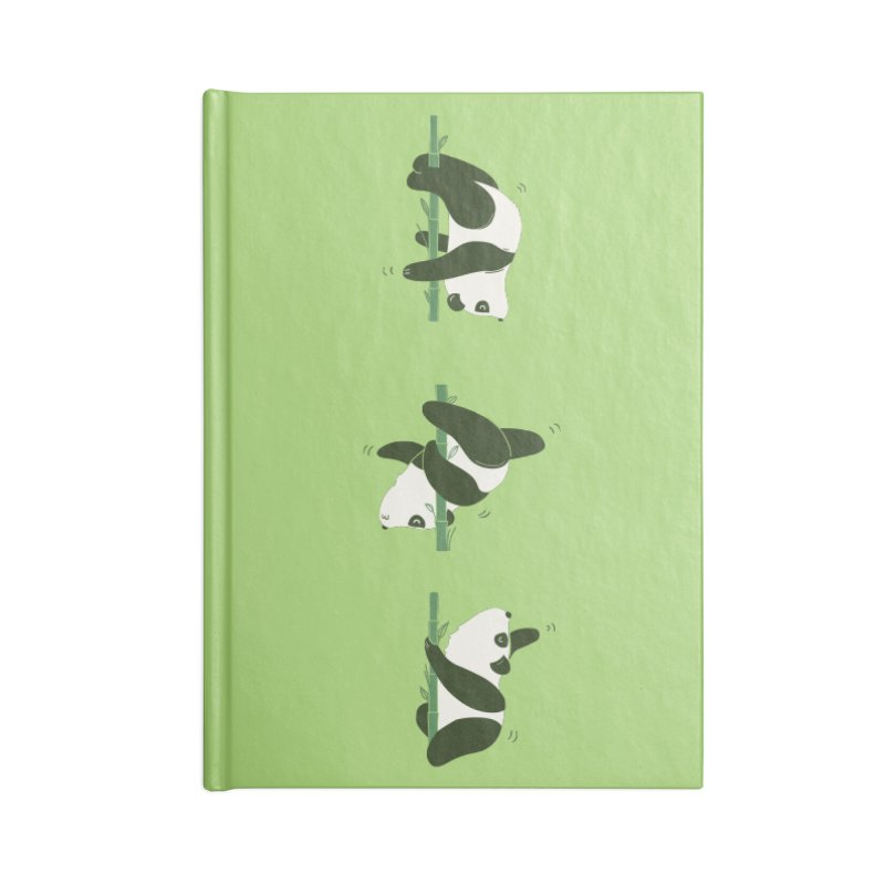 Pole Pandance Accessories Notebook by agrimony // Aaron Thong