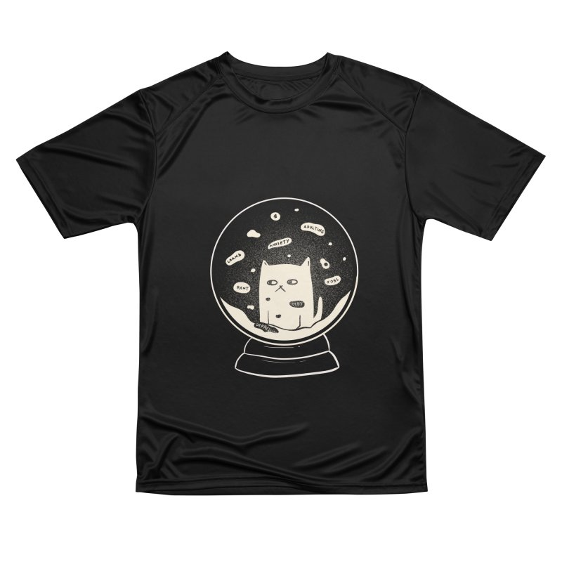 Millenial Snow(flake) Globe Men's T-Shirt by agrimony // Aaron Thong